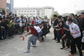 Các môn thể thao dân tộc đã được thực hiện tốt ở các trường học trong huyện.