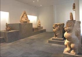 Mẫu trưng bày tại Bảo tàng Lịch sử TP.HCM.