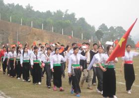 Đại hội TDTT được tổ chức ở 11/11 huyện thành phố, góp phần thúc đẩy phong trào rèn luyện thể dục thể thao toàn dân.