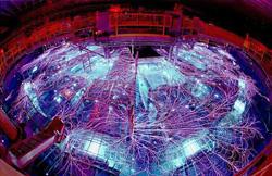 Z-Machine, có đường kính 30m và chiều cao 6m