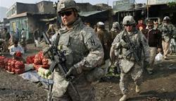 Lính Mỹ tuần tra tại Kabul, Afghanistan