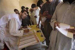 Cuộc bầu cử tổng thống Afghanistan hồi tháng 8/2009
