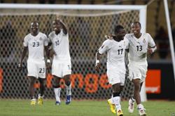 Vượt qua gian khó, Ghana đánh bại chủ nhà Angola