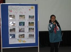 """Nhóm Togerther we share xã Bắc Phong huyện Cao Phong muốn chuyển đến thông điệp """"gia đình,cộng đồng hãy cùng quan tâm, chia sẻ, giúp đỡ người nhiễm HIV/AIDS"""""""