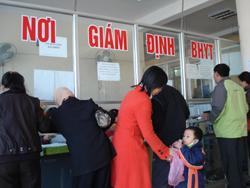 Nơi giám định BHYT - Bệnh viện Đa khoa tỉnh không quá tải vì bệnh nhân