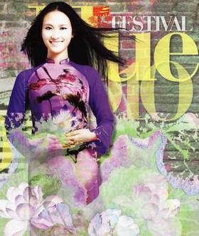 Poster Festival Huế 2010.
