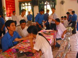 Lực lượng ĐVTN tích cực hưởng ứng và tham gia phong trào HMTN