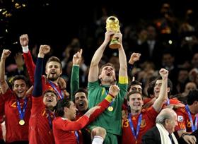 ĐT Tây Ban Nha vô địch World Cup 2010 một cách thuyết phục