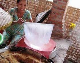 Trong bánh tráng, bánh canh có thể chứa chất thuộc nhóm sulfur.