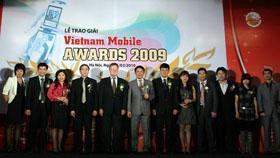Lễ trao giải Vietnam Mobile Awards 2009.