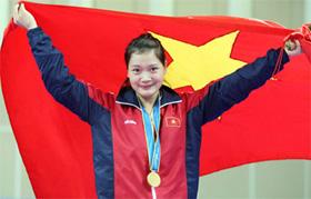 Việt Nam chỉ có một HC vàng của Lê Bích Phương