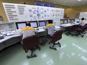 Phòng điều hành nhà máy điện hạt nhân Bushehr. Phương Tây nói sâu Stuxnet đã thâm nhập nhà máy, Iran nói không có.