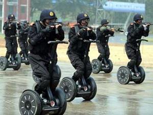 Diễn tập chống khủng bố ở Trung Quốc.