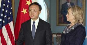 Bộ trưởng Ngoại giao Trung Quốc Dương Khiết Trì cũng đã có cuộc gặp với Ngoại trưởng Mỹ Hillary Clinton bàn thảo về vấn đề bán đảo Triều Tiên trong cuộc gặp hôm 5/1