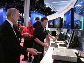 Triển lãm điện tử tiêu dùng 2011 (CES 2011) chính thức khai mạc tại thành phố Las Vegas, Mỹ