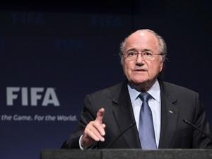 Chủ tich FIFA Sepp Blatter.