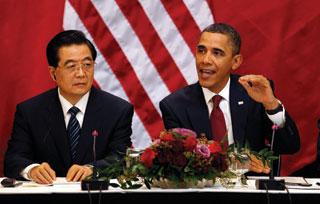 Trong cuộc họp báo, ông Obama vẫn tránh nói đến bất đồng Mỹ - Trung tại châu Á - Thái Bình Dương và người vừa đoạt Nobel Hòa bình Lưu Hiểu Ba