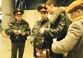 Cảnh sát Nga tăng cường an ninh tại ga quốc tế sân bay Domodedovo