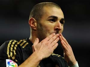 Benzema tiếp tục tỏa sáng. (Nguồn: Getty Images)