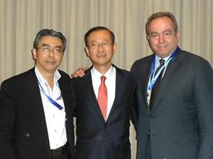 Đại diện ngoại giao 3 nước tham gia đàm phán.
