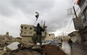 Bạo loạn bùng phát mạnh trở lại ở ngoại vi thủ đô Damascus trong ngày cuối tuần.