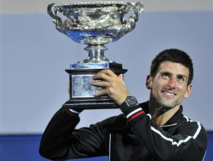 Djokovic có chiến thắng thứ 2 liên tiếp tại Úc mở rộng.