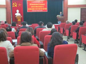 Triển khai Nghị định 91/2012/NĐ – CP.