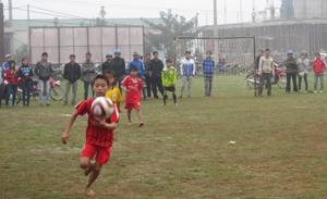 Lạc Sơn quan tâm tới các hoạt động thể thao trong giới trẻ và học sinh trên địa bàn.
