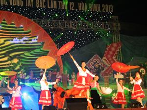 Tháng 11/2103, tỉnh ta đã đăng cai tổ chức thành công Ngày hội VH-TT&DL các dân tộc vùng Tây Bắc lần thứ XII. Đây là dịp để tỉnh ta quảng bá hình ảnh văn hóa, du lịch đến với bạn bè trong nước và quốc tế.