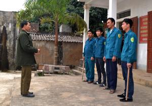 Nhằm đảm bảo ANTT trên địa bàn, ông Dương Toàn Thắng đã triển khai mô hình 3 quản, 3 giữ, thành lập các đội trật tự để tuần tra, canh gác thường xuyên.