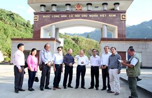 Cửa khẩu Ma Lù Thàng (huyện Phong Thổ - Lai Châu) đang mở ra những cơ hội mới trong phát triển KT-XH của huyện vùng biên.