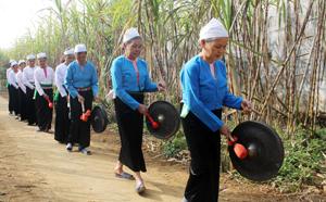 Chiêng Mường trong hội sắc bùa xã Thu Phong (Cao Phong).