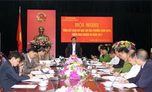Đồng chí Bùi Văn Khánh, Phó Chủ tịch UBND tỉnh phát biểu kết luận.