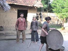 Cảnh phim Bí thư tỉnh ủy - bộ phim về nông thôn có nhiều hứa hẹn.