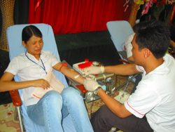 Tuổi trẻ đi đầu trong phong trào hiến máu nhân đạo