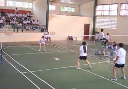 Cầu lông CCB - một trong những thế mạnh của thể thao Đà Bắc