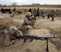 Thuỷ quân lục chiến Mỹ tham gia chiến dịch Marjah.