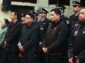 Một phiên tòa xử quan chức tham nhũng ở TP Trùng Khánh, Trung Quốc vào đầu tháng 2-2010.
