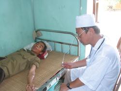 Người dân được chăm sóc, bảo vệ và nâng cao sức khoẻ
