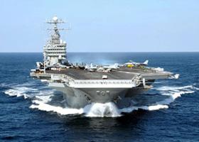Tàu sân bay USS George Washington - niềm tự hào của sức mạnh quân sự Mỹ.