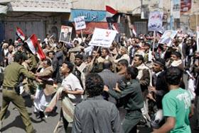 Bạo lực đang gia tăng tại Yemen.