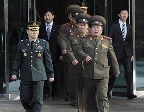 Cuộc đàm phán quân sự cấp đại tá ngày 8-9/2 vừa qua tại làng đình chiến Panmunjom.