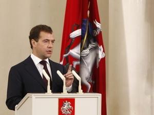 Tổng thống Dmitry Medvedev.