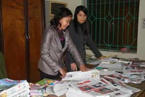 Bưu điện tỉnh luôn làm tốt công tác phát hành báo chí đến với người dân vùng sâu, xa, vùng đặc biệt khó khăn trong tỉnh.