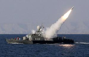 Một tên lửa tầm trung mới được bắn thử trong ngày tập trận đầu năm mới, 1/1/2012.
