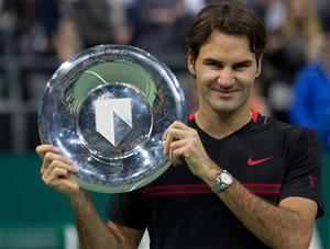 Lần đầu Federer vô địch tại ATP Rotterdam là ở nội dung đánh đôi năm 2002.