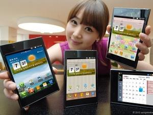 Smartphone Optimus Vu của LG. (Nguồn: Internet)