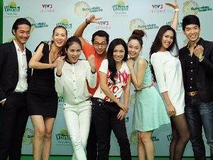 Các nhân vật nổi tiếng tham gia Bước nhảy Hoàn vũ 2012 (Nguồn: VTV3)