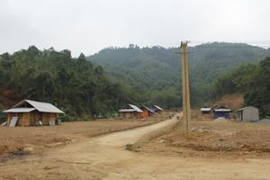 Khu tái định cư suối Kẻ, xóm Mít xã Tu Lý, Đà Bắc.