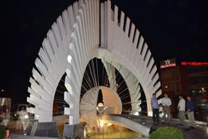 Công trình biểu tượng TP Hoà Bình.